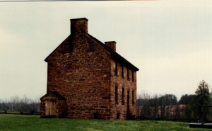 The Stone House, Manassas Battlefield, VA (April 22, 1990)